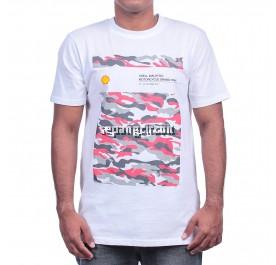 SHELL MALAYSIA T-SHIRT WHITE