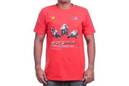 SHELL MALAYSIA T-SHIRT RED