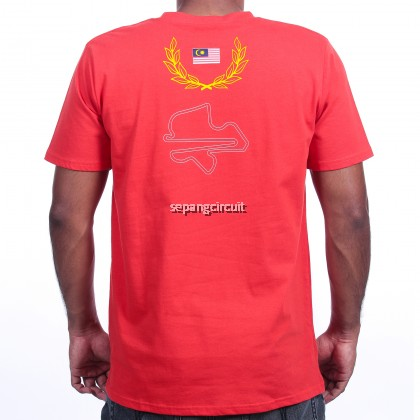 SHELL MALAYSIA T-SHIRT RED