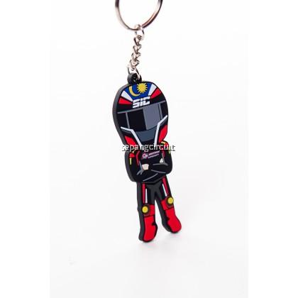SIC Keychain Rubber Rider