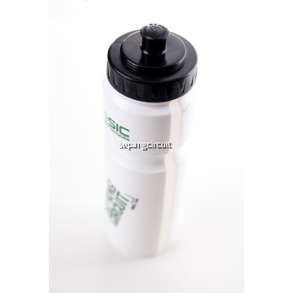 SIC Water Bottle White Green