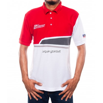 SIC Colar Red White