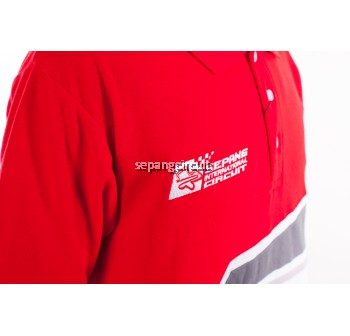 SIC Colar Red White