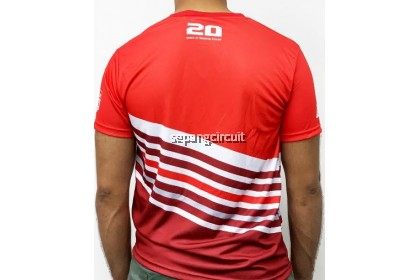 Sublimation Red White